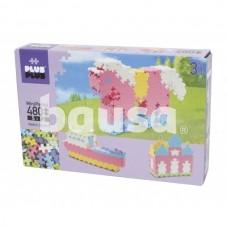 Plus Plus konstruktorius Mini Pastelinės, 480 3in1