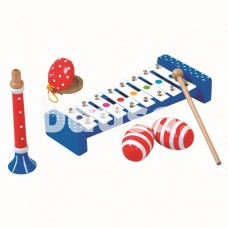 Vaikiškas muzikinių instrumentų rinkinys, 3+