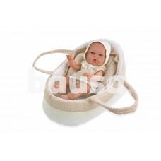 Kūdikėlis su rusva nešykle, 33 cm
