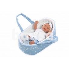 Kūdikėlis žvaigždėtoje, melsvoje nešyklėje