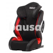 Sparco F1000KI Black-Red Isofix (F1000KIG23RD) 15-36 Kg