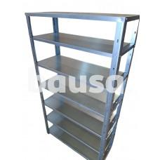 Sandėliavimo lentyna 180 x 108 x 48 cm, 7 lentynos, 180 kg