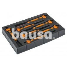 Bi-material parallel punches set 2-10mm 7 pcs