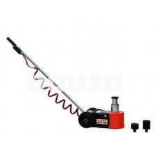 Pneumatinis hidraulinis keltuvas ant ratukų, max 224mm/30T, max 292mm/15T, 2x adaptoriai 45mm and 75mm