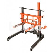 Hidraulinis sunkvežimių ratų vežimėlis 600kg. min:300mm,max:1300mm