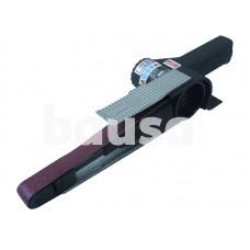 Pneumatinis juostinis šlifuoklis 20x520mm juosta su greita juostos nuėmimo funkcija, 16000 aps/min