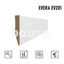 Grindjuostė MDF Evera EV201 balta