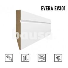 Grindjuostė MDF Evera EV301 balta