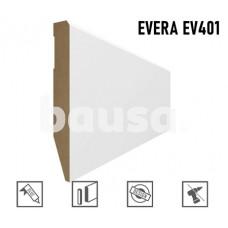 Grindjuostė MDF Evera EV401 balta