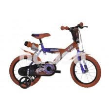 """Vaikiškas dviratis DINO BIKES 163G-SA 2021, mėlynas / raudonas, 10,5"""", 16"""""""