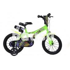 Vaikiškas dviratis DINO BIKES Turtles 614NT, 14in