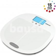 Salter 9192 WH3R Salter Curve Bluetooth Smart Analyser Bathroom Scale white