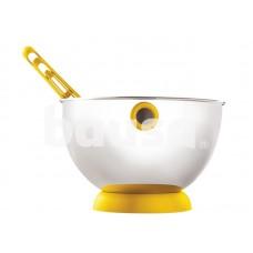 ViceVersa Kogel Mogel Bowl + Whisk Set yellow 16221