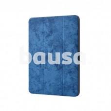 Devia Leather Case with Pencil Slot (2018) iPad Pro 11 blue