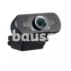 Internetinė kamera kompiuteriui Tellur Full HD webcam 2MP autofocus black