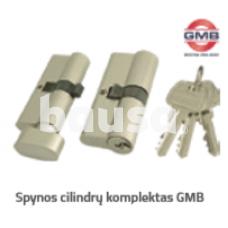 Spynos cilindrų komplektas GMB vieno rakto sistema