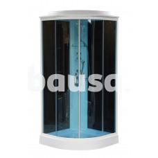Dušo kabina LORA BLACK, 90 x 90 x 215 cm