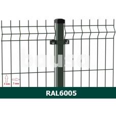 Segmentinė tvora EKO, žalia, 2500 x 1230 mm (3/4 mm)