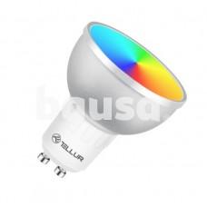 Tellur WiFi LED Smart Bulb GU10, 5W, white/warm/RGB, dimmer