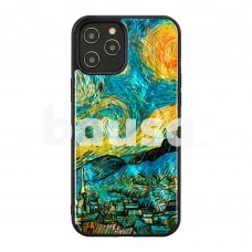 iKins case for Apple iPhone 12 Pro Max starry night black