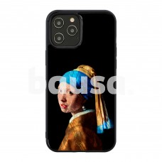 iKins case for Apple iPhone 12 Pro Max girl with a pearl earring