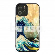 iKins case for Apple iPhone 12 Pro Max great wave off