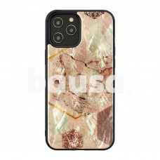 iKins case for Apple iPhone 12 Pro Max pink marble