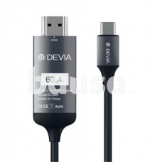 Devia Storm series HDMI Cable (type-c to HDMI) black