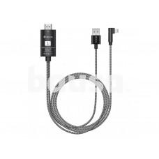 Devia Storm series HDMI Cable (HDMI to lightning) black