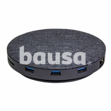 Devia UFO 10in1 HUB wireless charger gray