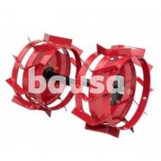 Motobloko metaliniai ratai 5 x 12