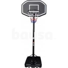Krepšinio stovas 305 cm, juodas