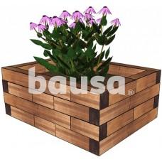 Lysvė medinė DD10 - 93,6 x 72 x 38 cm
