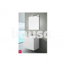 Vonios baldų komplektas TEKA INCA COMBO 2D, 800 GL balta