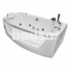 Masažinė vonia AMO-0055 Bianco, dvivietė, 175 x 89 cm