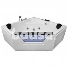 Masažinė vonia AMO-0633, dvivietė, 150 x 150 cm