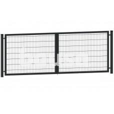Segmentiniai vartai 4000 x 1530 mm, RAL7016