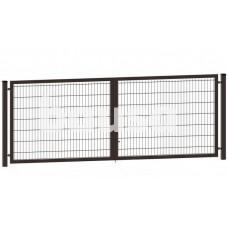 Segmentiniai vartai 4000 x 1230 mm, RAL8017