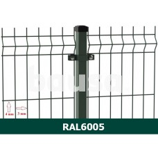 Segmentinė tvora EKO, žalia, 2500 x 1730 mm (3/4 mm)