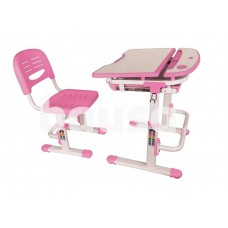 Rašomasis stalas Lumi Legend C304 Pink / White