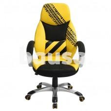 Biuro kėdė Dee Tire, geltona / juoda