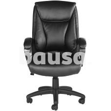 Biuro kėdė Pantheon Black, 63 x 71 x 102,5–112 cm