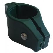Tiesi stulpo apkaba 48 mm, žalia, plastikinė