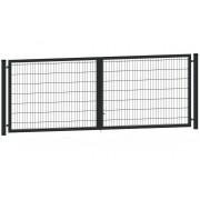 Segmentiniai vartai 4000 x 1230 mm, antracito
