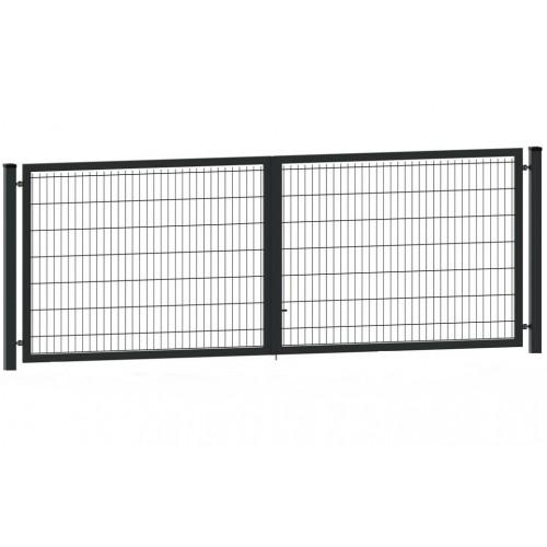 Segmentiniai vartai 4000 x 1530 mm, antracito