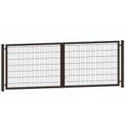 Segmentiniai vartai 4000 x 1530 mm, rudi