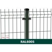 Segmentinė tvora EKO, žalia, 2500 x 1530 mm (3/4 mm)