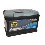ZAP 75 Ah EFB Carbon akumuliatorius