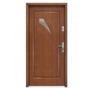 Medinės lauko durys Modern P108
