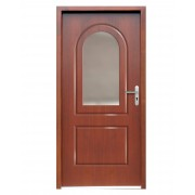 Medinės lauko durys Clasic P112